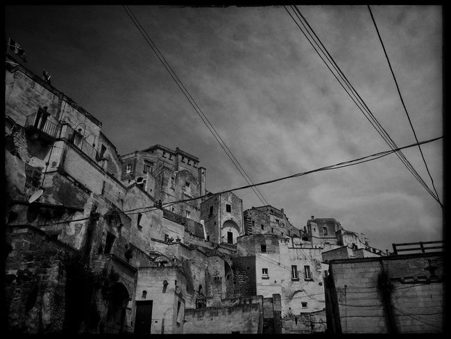 3rd day of travel - Visiting Matera Traveling TheMinimals (less Edit Juxt Photography) Bw_collection Monochrome Blackandwhite Streetphoto_bw Bw_lover Blackandwhite Photography EyeEm Best Shots Black And White