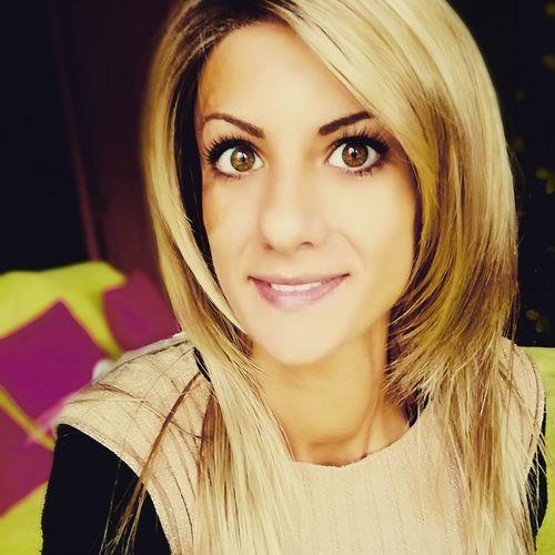 Blonde Girl Blond Hair Gabriella Women Selfie ♥ Brown Eyes