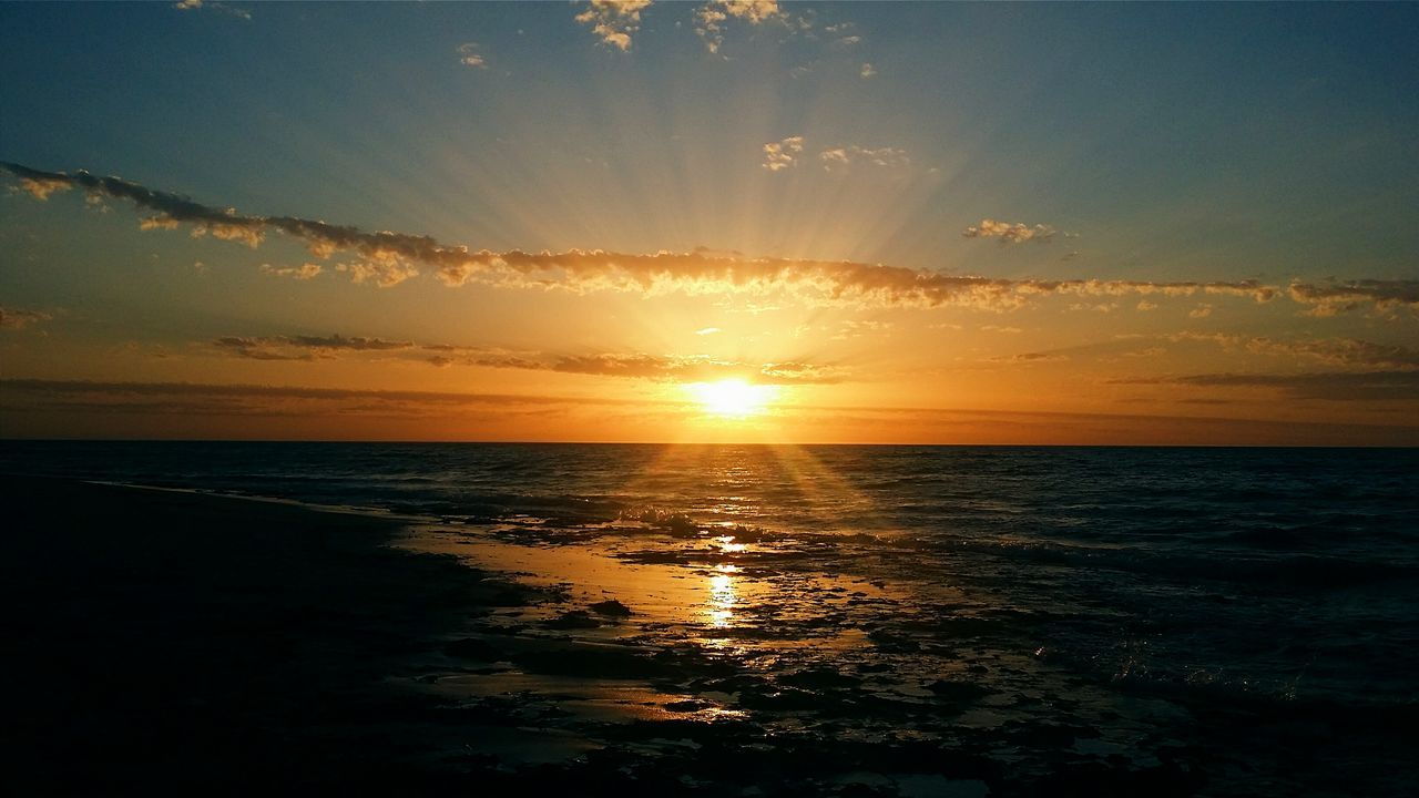 Show me your glory ☀ First Eyeem Photo Sunset Skylovers Beachphotography Perth Perthlife Bunbury Nature Back Beach Beauty In Nature Landscape Nature Photography