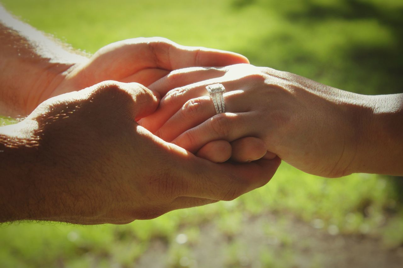 Beautiful stock photos of engagement, Bonding, Couple - Relationship, Cropped, Day