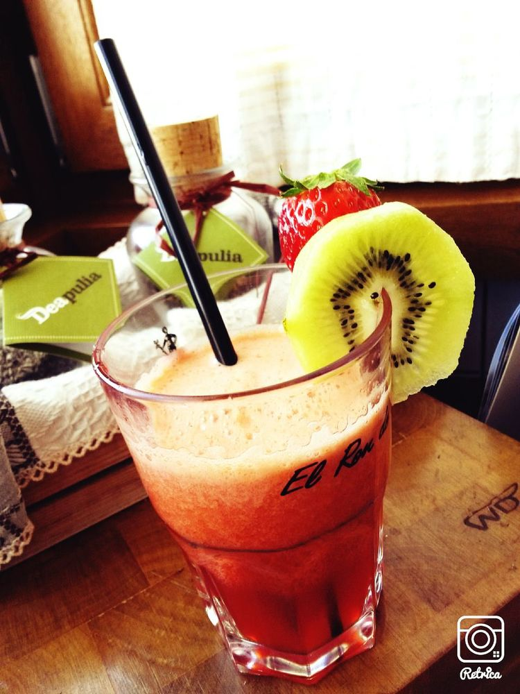 Break Centrifugal Happy Hour Strawberry Kiwifruit Benessere Dietfood Ohyeah
