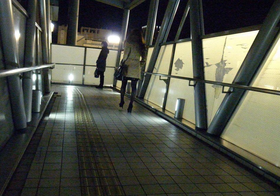 City Life People Snapshot City Street Snapshots Of Life Strolling Night Nightphotography Streetphotography Light And Shadow Street Light City Lights Shinagawa 品川 , Tokyo Japan