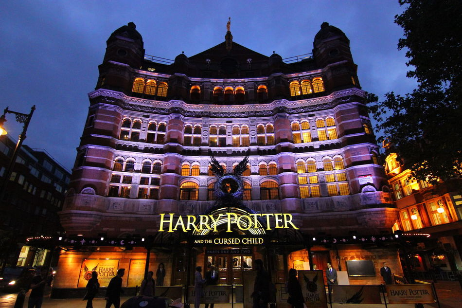 Palace Theatre  Theatre harry potter, plays London By Night, London, United Kingdom, Cityscape, Travel, Travel Photography, Ho Travel Destinations Tourism