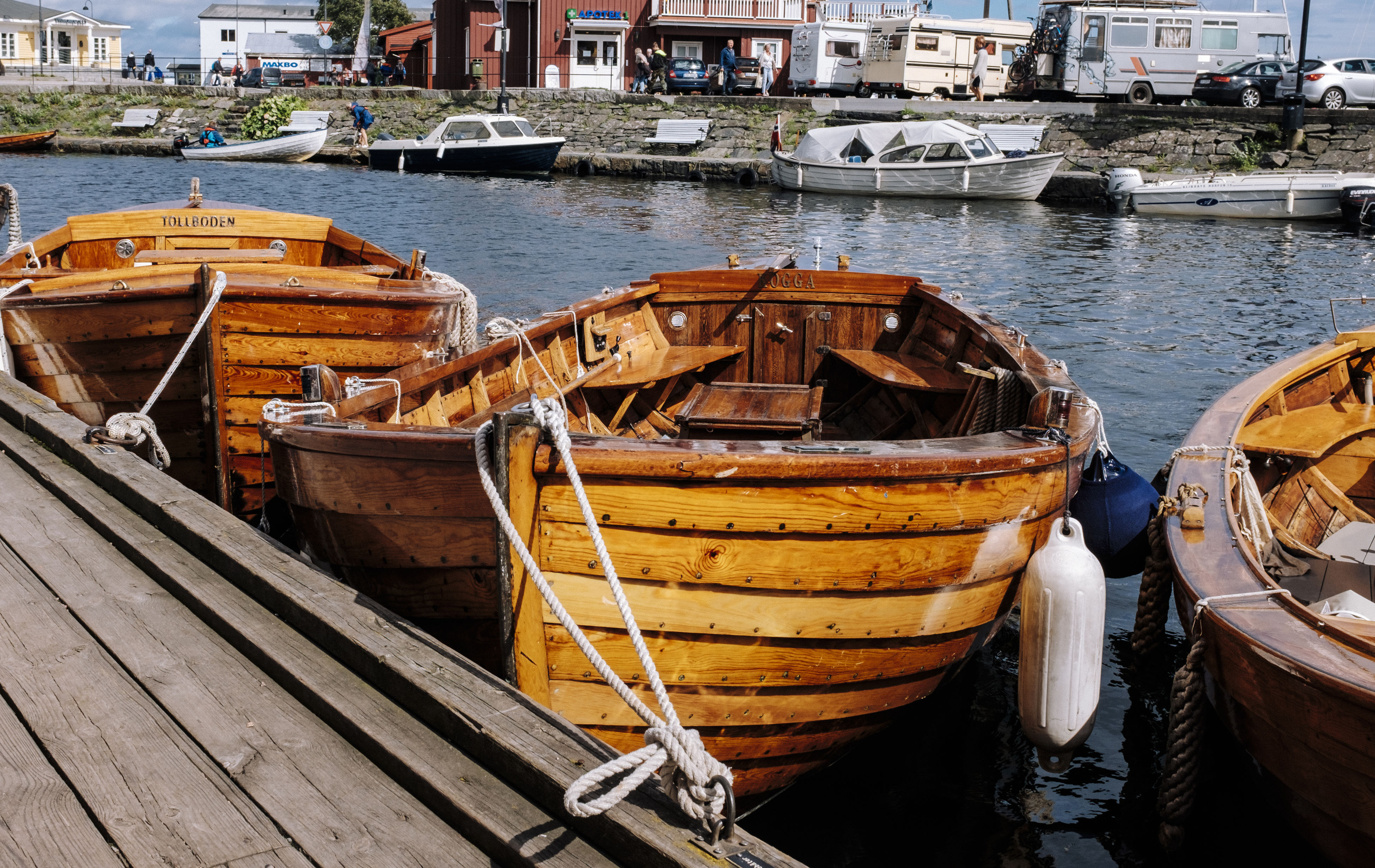 Wooden Boats in Norway Adventure Boat Boat Tied Up Boating Harbor Holiday Jetty Mode Of Transport Moored Mooring Nautical Vessel Outdoors Sunset Transportation Vikings  Water Wooden Boat