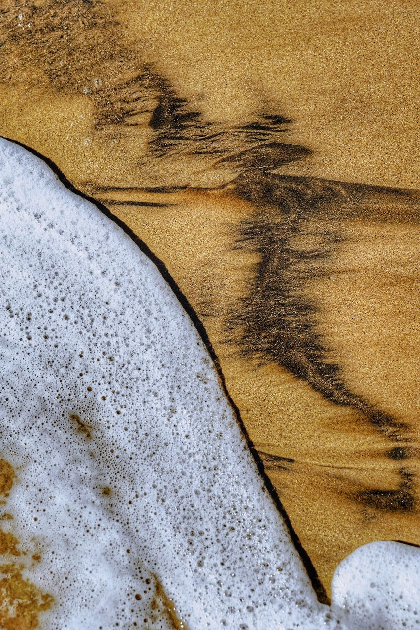 sand, beach, no people, nature, textured, backgrounds, close-up, day, outdoors, water