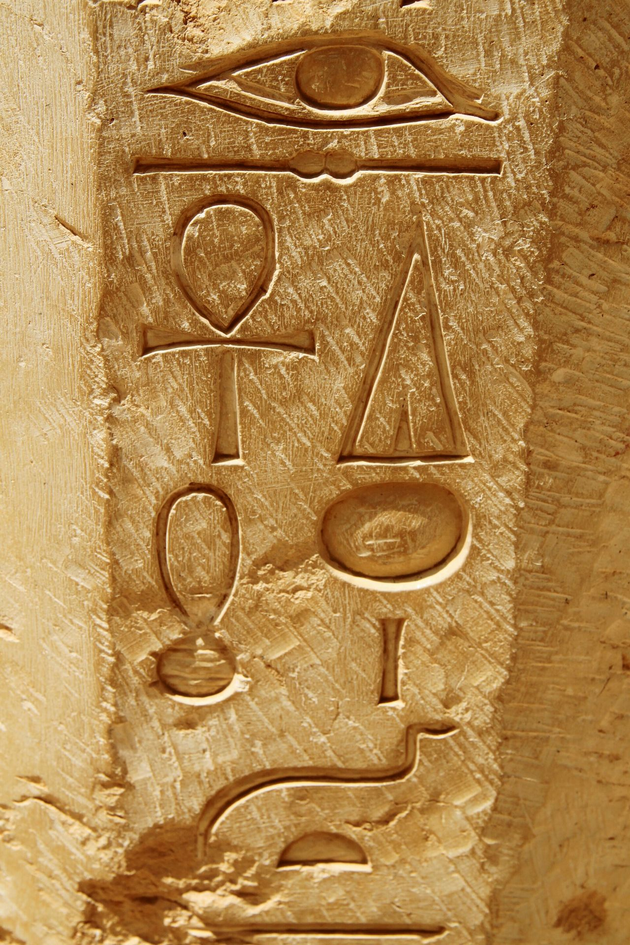 Temple Of Hatshepsut Egypt Hieroglyphics