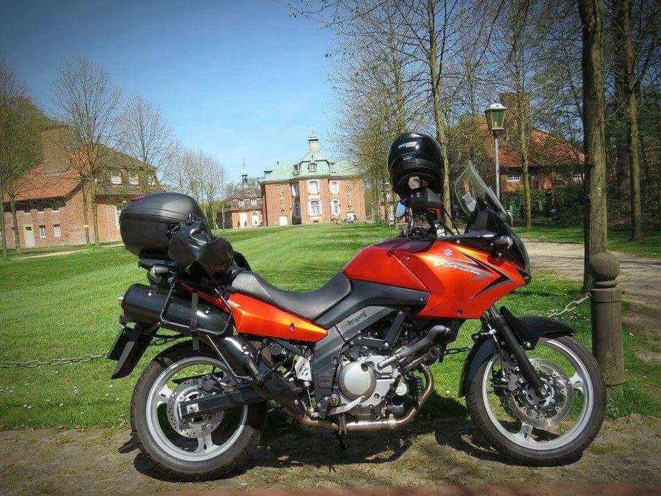 Love my orange machine! ❤👌 VStrom Suzuki Dl650