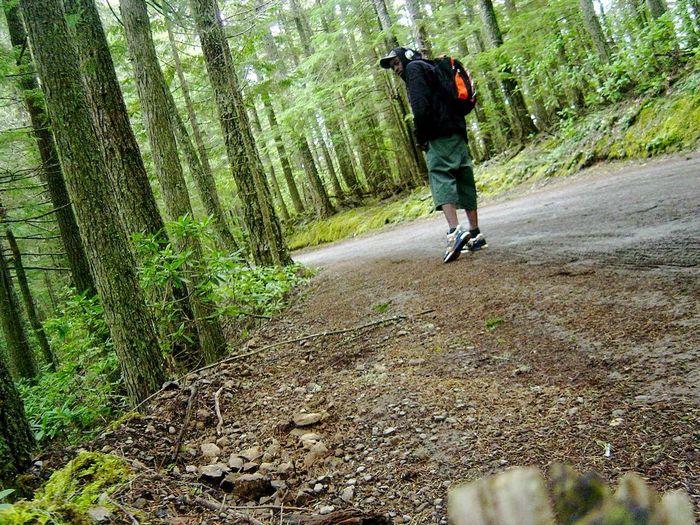 That's Me Nature Walk Hiking Trail Seattle Washington Nature Selfiie Mt. Walker