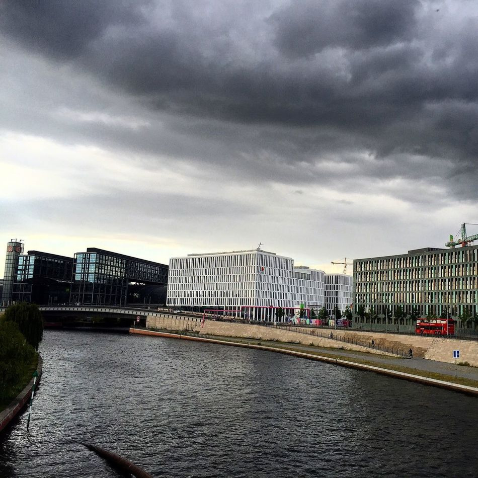 These moody cloudy days... Berlin Clouds Summer