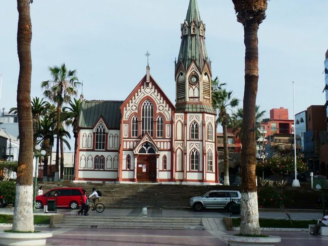 Travel Photography Arica -chilean Arquitecture Cathedral