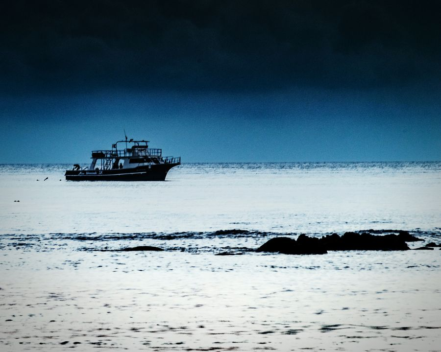 Nautical Vessel Transportation Mode Of Transport Tranquility Sky Outdoors Trawler No People Sailing Scenics Water Sea Iriomote Island Horizon Over Water Okinawa Loneliness Lonely Wave Japan Photography