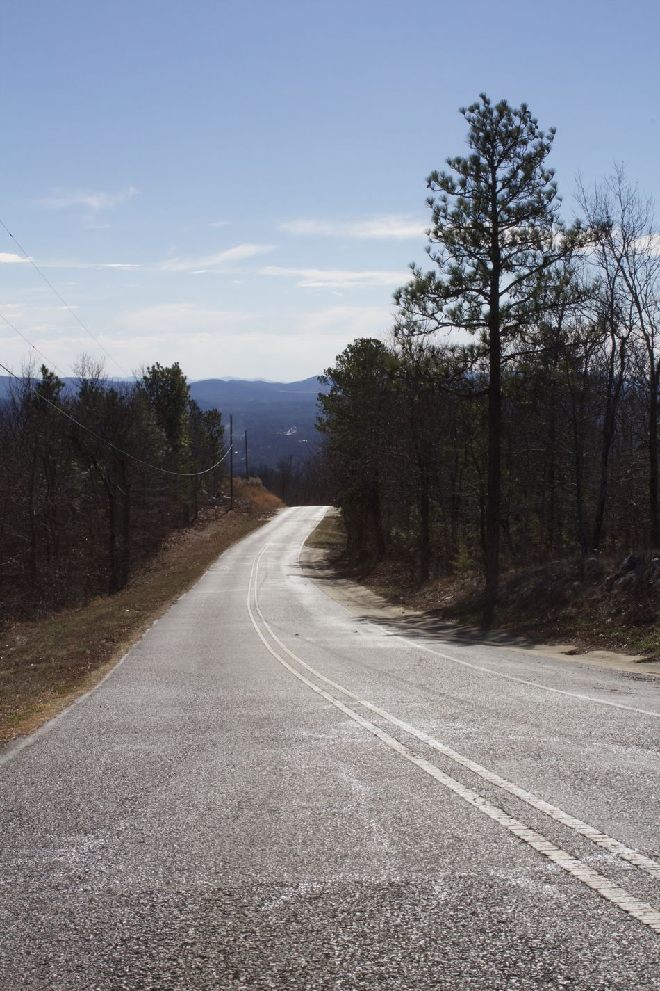 """""""The Way Down"""" / Jacksonville, Alabama Asphalt Beauty In Nature Empty Road Landscape Mountain Natural Gradient Nature No People Outdoors Road Scenics Sky Winding Road"""