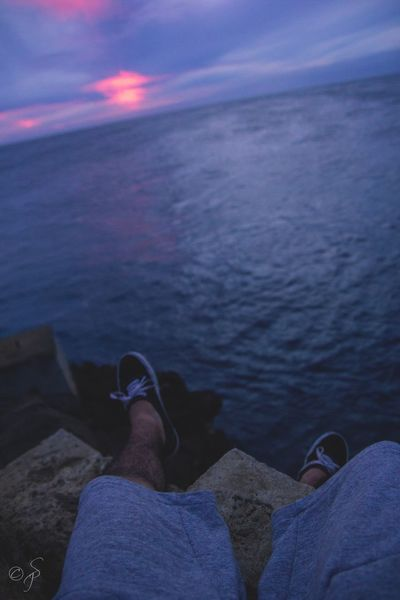 Sitting on the top of the 🌎 in South Point, Hawaii.🌴 Miles Away Sunset Cliff South Point Big Island Hawaii Big Island Hawaii Sitting Sitting Alone Rocks Pacific Ocean Sea Personal Perspective Human Leg Lifestyles Sky Freedom Free Happy Happiness Sadness Thinking Wish Wishing Amazing View Out Of The Box