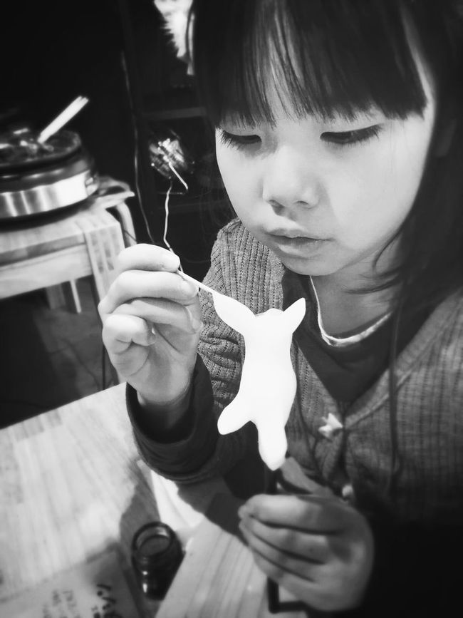 Working On Candy Art The Places I've Been Today Eye4photography  Black & White Blackandwhite Black And White Portrait Monochrome IPhoneography