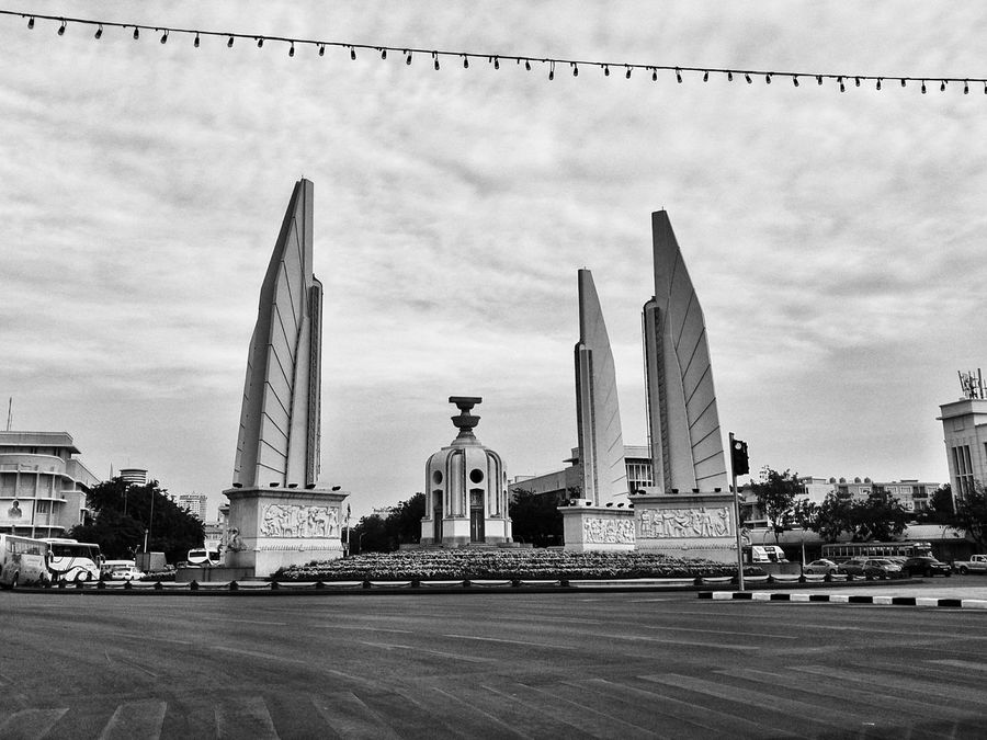 Photography Sky City Architecture Travel Destinations Building Exterior Cloud - Sky Outdoors No People Day Gold Constitution Constitutional Law Constitution Avenue Statue Better Days Will Come . Spirituality Cityscape