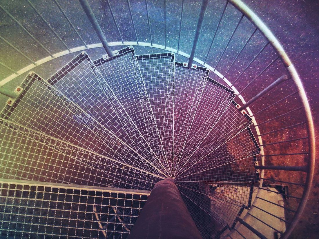 How Do We Build The World? How Do We Build The World Looking Down Germany Northgermany Colorful Metal Iron Lowlight Wendeltreppe Spiral Spiral Staircase Spiralstaircase Spiral Staircases Spiral Stairs Spiralstairs Market View Architecture Interesting Feuertreppe Stairs Stairways Stairway Stairs_collection