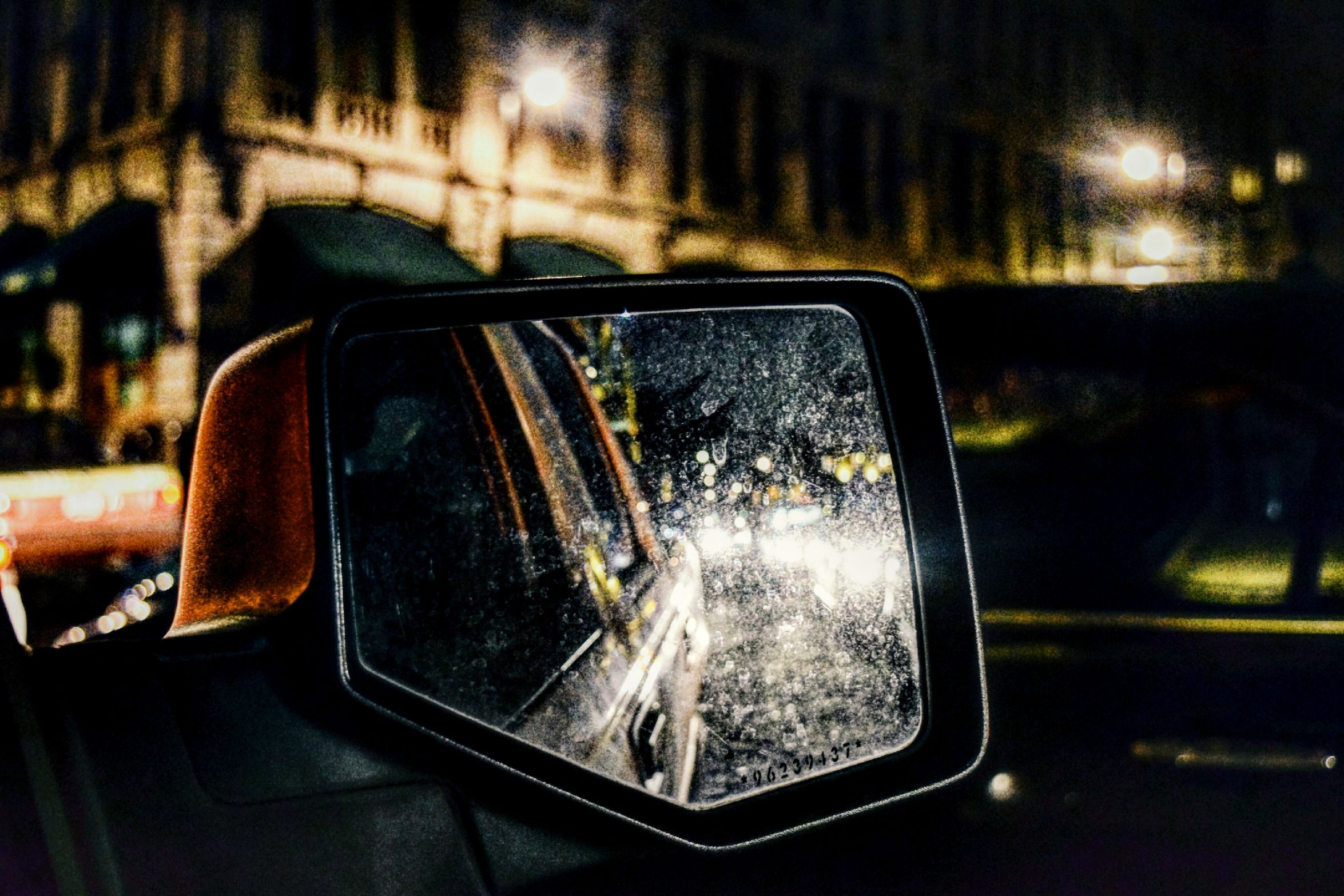 Transportation Mode Of Transport Car Transportation Illuminated City Land Vehicle No People Night Outdoors Close-up Side-view Mirror Vehicle Mirror Landscape Photography Mexico Mexico City Mode Of Transport Car