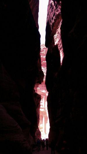 Petra, Jordan Alkhazneh Rockcut Siq Rose City