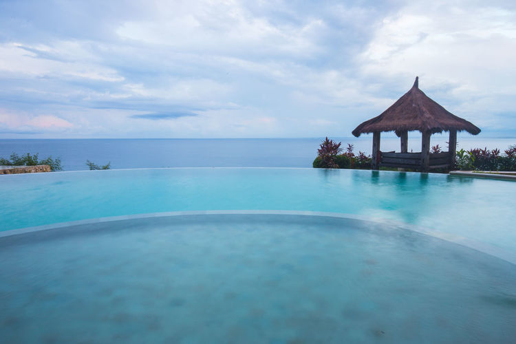 Bali Beauty In Nature Cloud Cloud - Sky Clouds Cloudy Day Horizon Over Water Idyllic INDONESIA Infinity Pool Nature Outdoors Pool Scenics Sea Shore Sky Tourism Tranquil Scene Tranquility Travel Destinations Vacations Water Water, Water_collection, Hello World, Reflection, Water Reflections