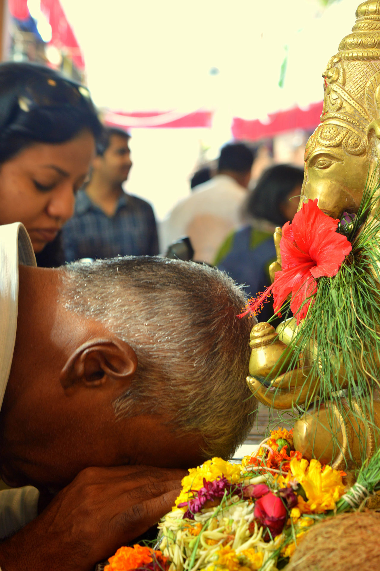 https://www.facebook.com/shraddhabagrodiasphotography/ 500px Art Close-up Culture Cultures Day Devoted Festival Flower Ganpati GanpatiBappaMorya India Lifestyles Man Old Outdoors Praying Pune Puneclickarts Punediaries Puneinstagrammers Punekars Tradition