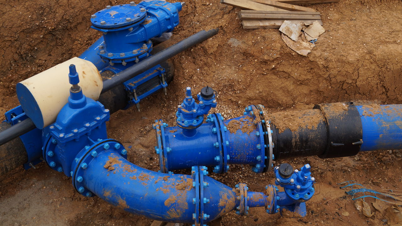Blue Close-up Day High Angle View Industrial Equipment Industry Machine Valve Machinery Manufacturing Equipment Metal Metal Industry No People Oil Industry Oil Pump Outdoors Pipe - Tube Pipeline Sand Technology Water Pipe
