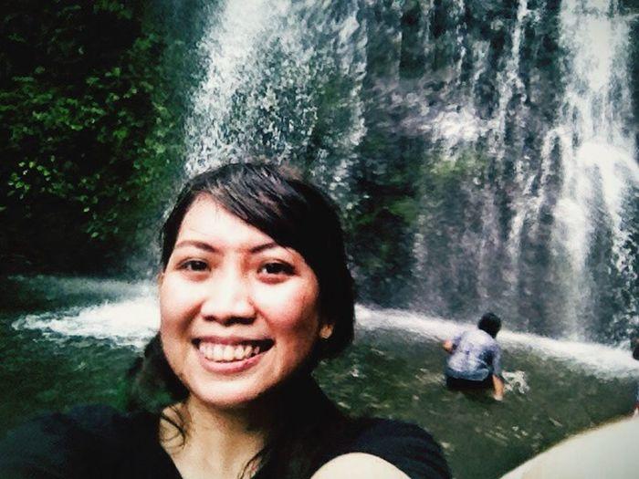 Green waterfall 🌍💦