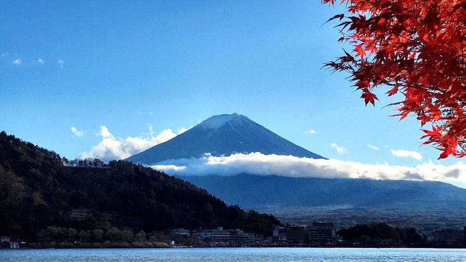 Beautiful Nature Autumn Autumn Colors EyeEm Best Shots - Nature Mt Fuji 秋 紅葉 山中湖 富士山 Japan