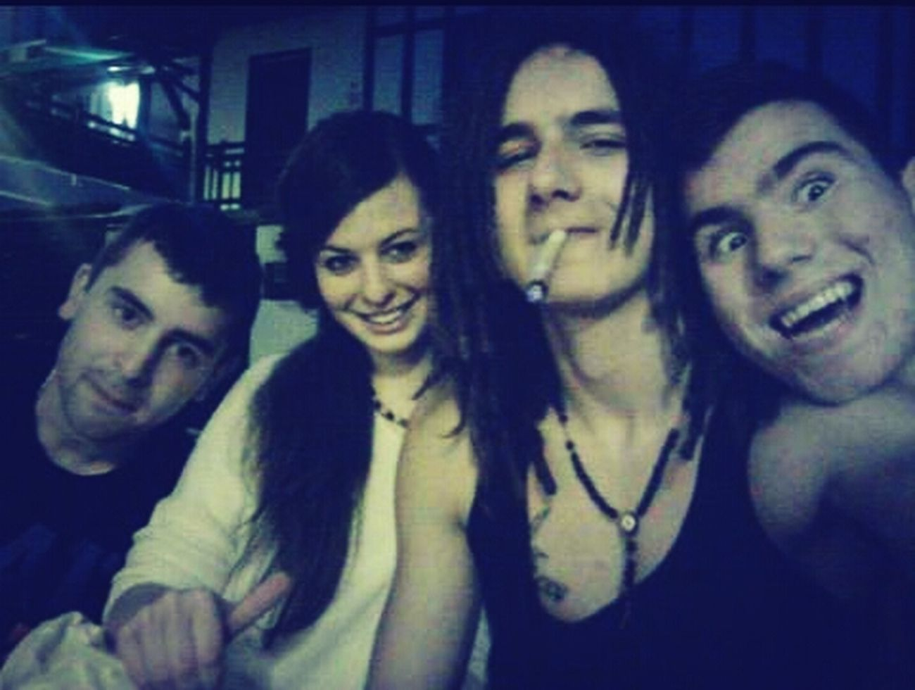 whit My Friends Smoking Weed Fumando Hierba ;) Smile