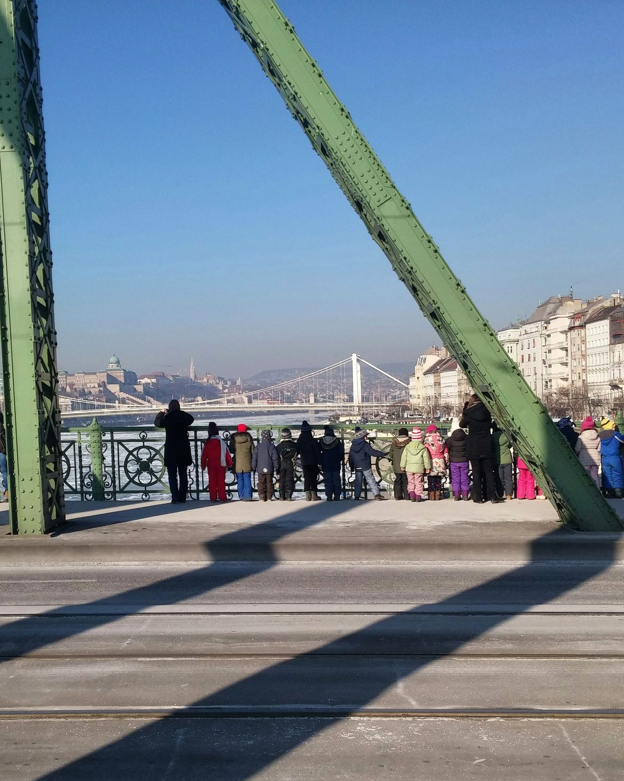 Budapest Budapest Streetphotography Budapestgram Streetlife Streetphotography Bridge Children Debacle Ice