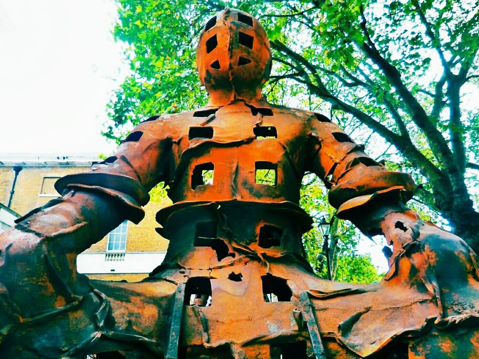 Another Guardian Saatchi Gallery London Sculpture Xavier Mascaró