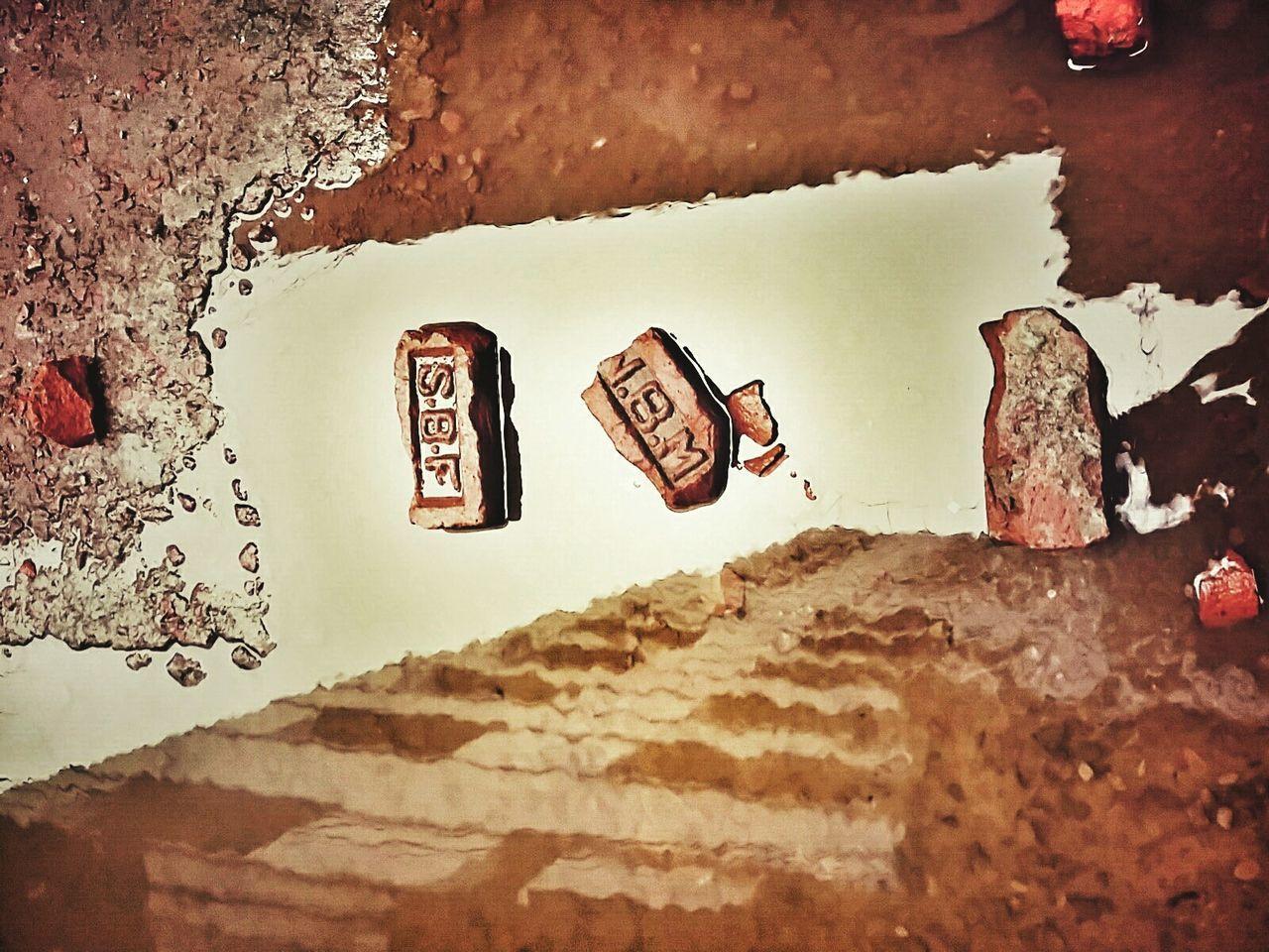 Brickstones Reflection Outdoors Rainy Days Broken Bricks Nature Pattern Mobile Photography Bangladesh The Week Of Eyeem EyeEm Diversity The Secret Spaces Art Is Everywhere Building Reflections ミーノー!! EyeEmNewHere The Street Photographer - 2017 EyeEm Awards BYOPaper!