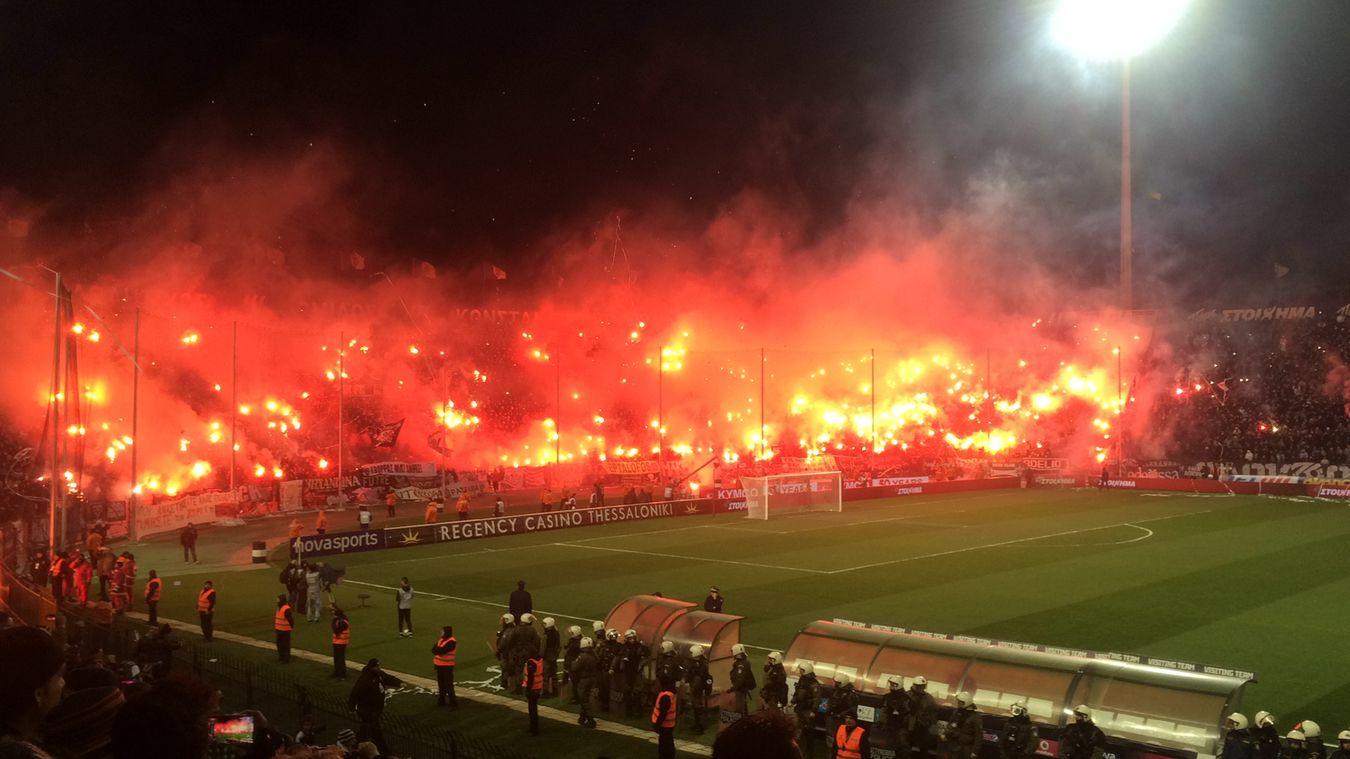Paok Paokfc Toumbastadium Zcrew Thessaloniki Skg Helll Tonight PAOK-osfp