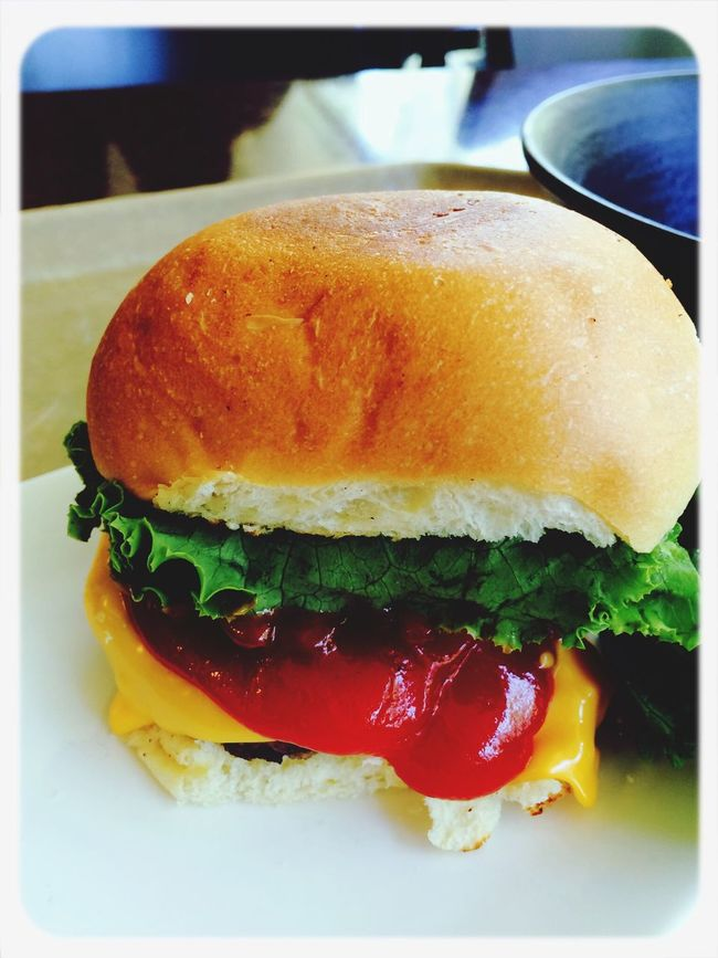 grilled burger in FEAST Food First Eyeem Photo