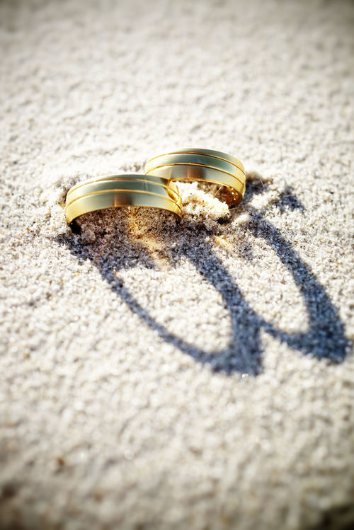 Beach Wedding rings Wedding EyeEm Bestsellers