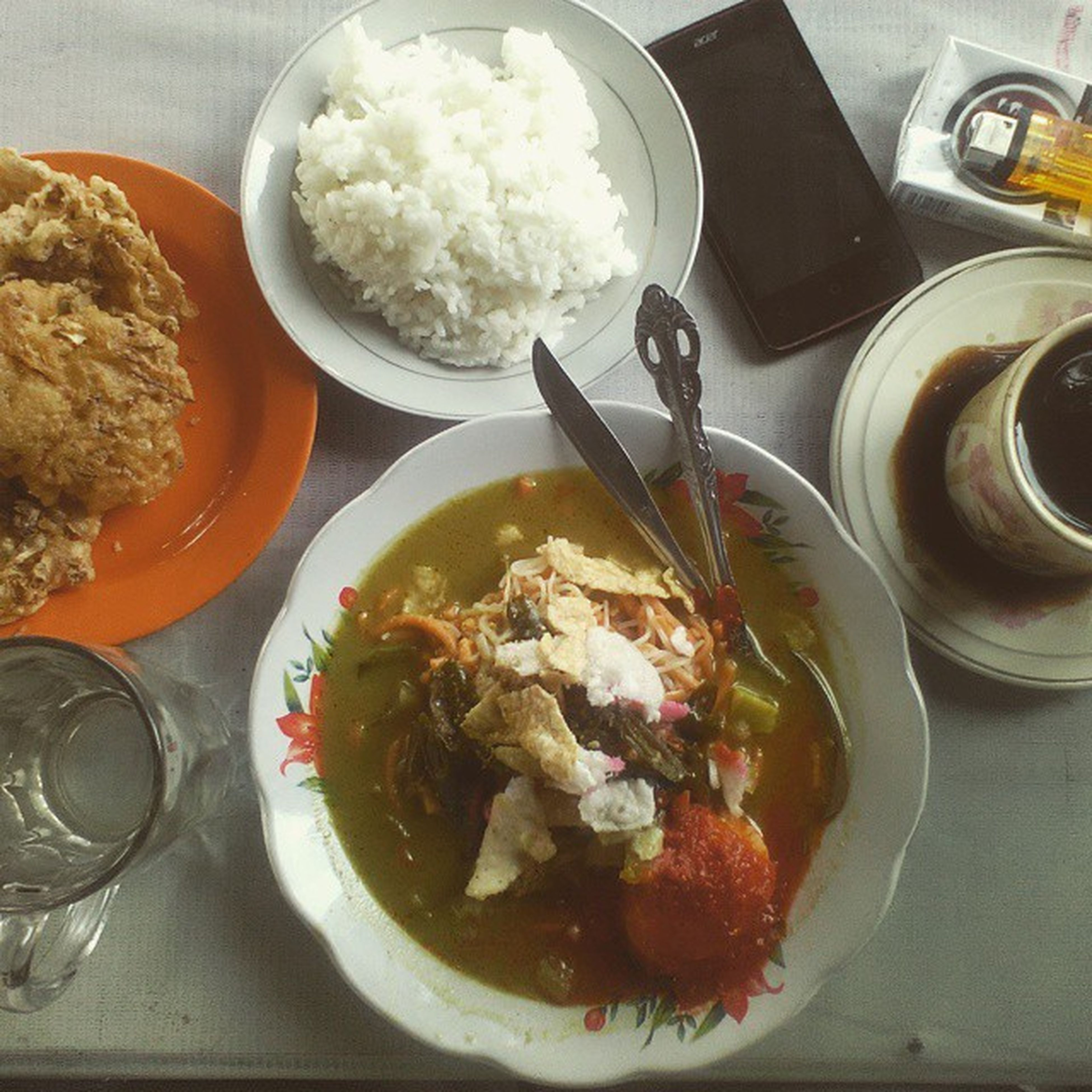 food and drink, food, freshness, indoors, ready-to-eat, plate, healthy eating, serving size, still life, meal, table, bowl, high angle view, served, meat, fork, close-up, indulgence, spoon, lunch