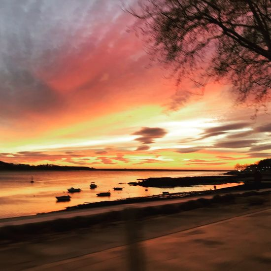 Winter sunset in Porto, Portugal Sunset Scenics Beauty In Nature Orange Color Nature Sky Shades Of Winter