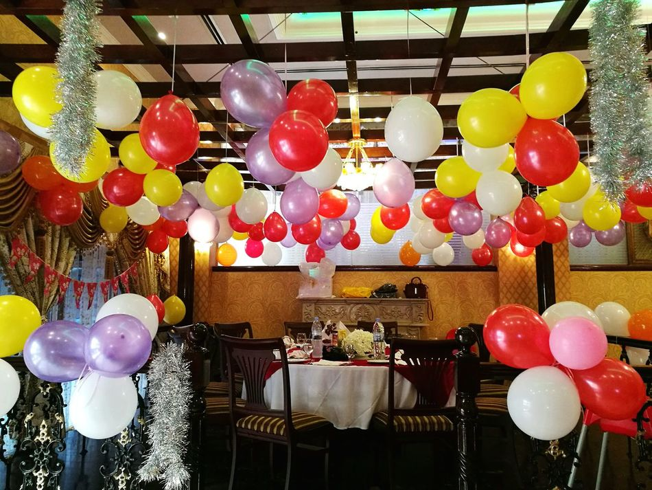 Hello World Taking Photos Balloons Colorful Colour Of Life Colors Party Setup Party Decorations Eyeemphoto