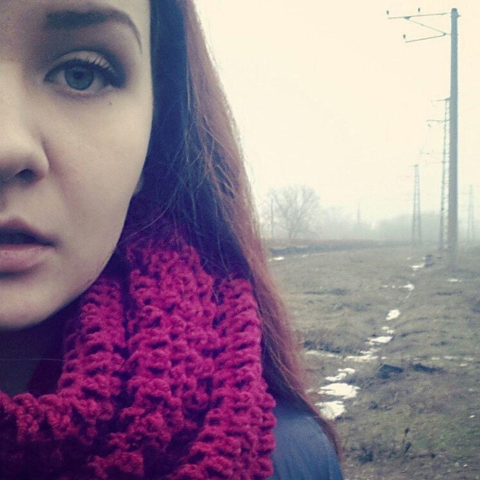 Cold Winter ❄⛄ Cold Days That's Me Girl яркая рыжая Kryvyy Rih Coolday