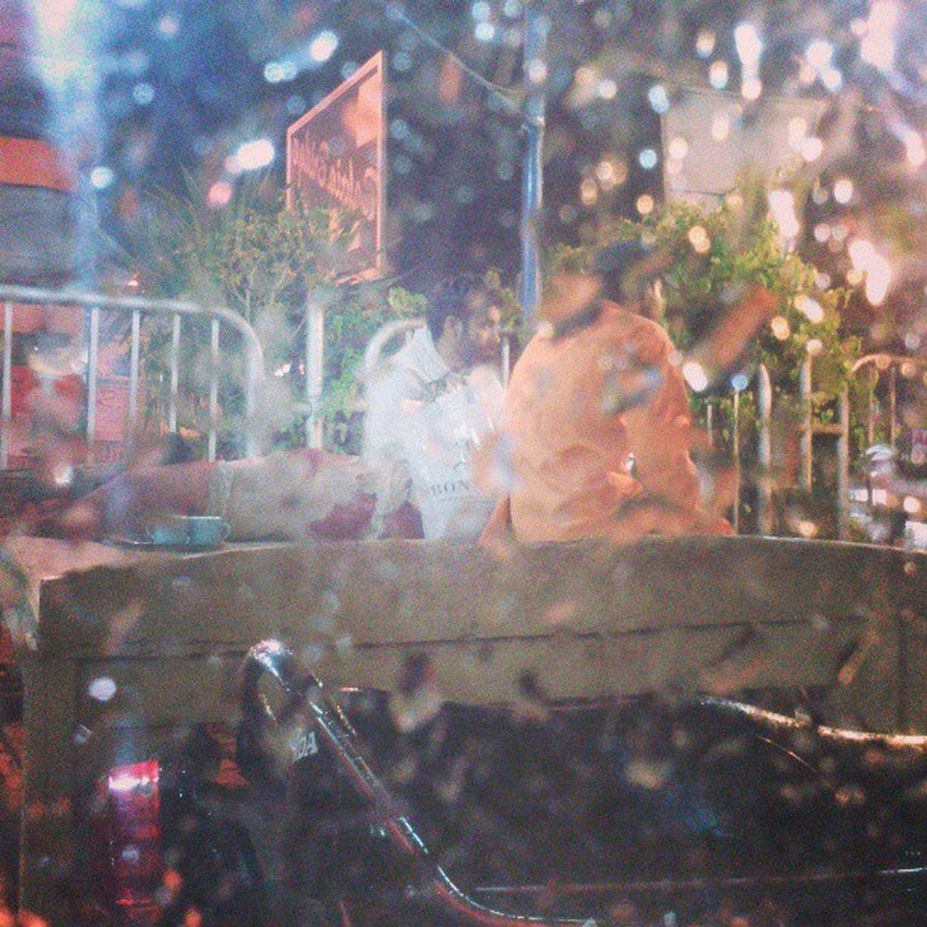 Musafir From my car wind screen Raining Rawalpindi Islamabad