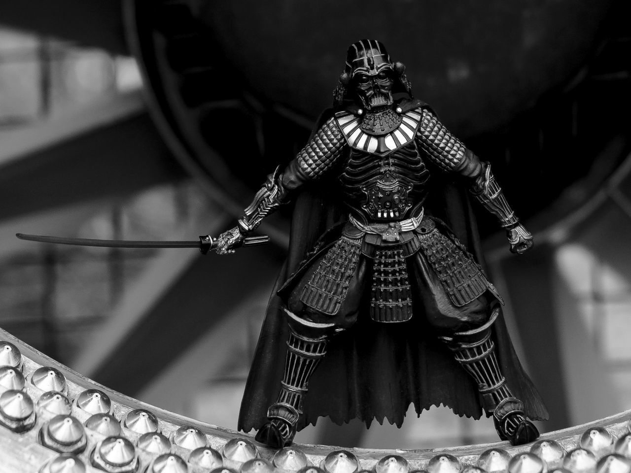 The Dark Lord has returned! Nobody expected him to show up, but the path of the dark side of Force is hideous and... Action Actionfigures Black And White Dark Lord Darkside Darth Vader Urban Welcome To Black