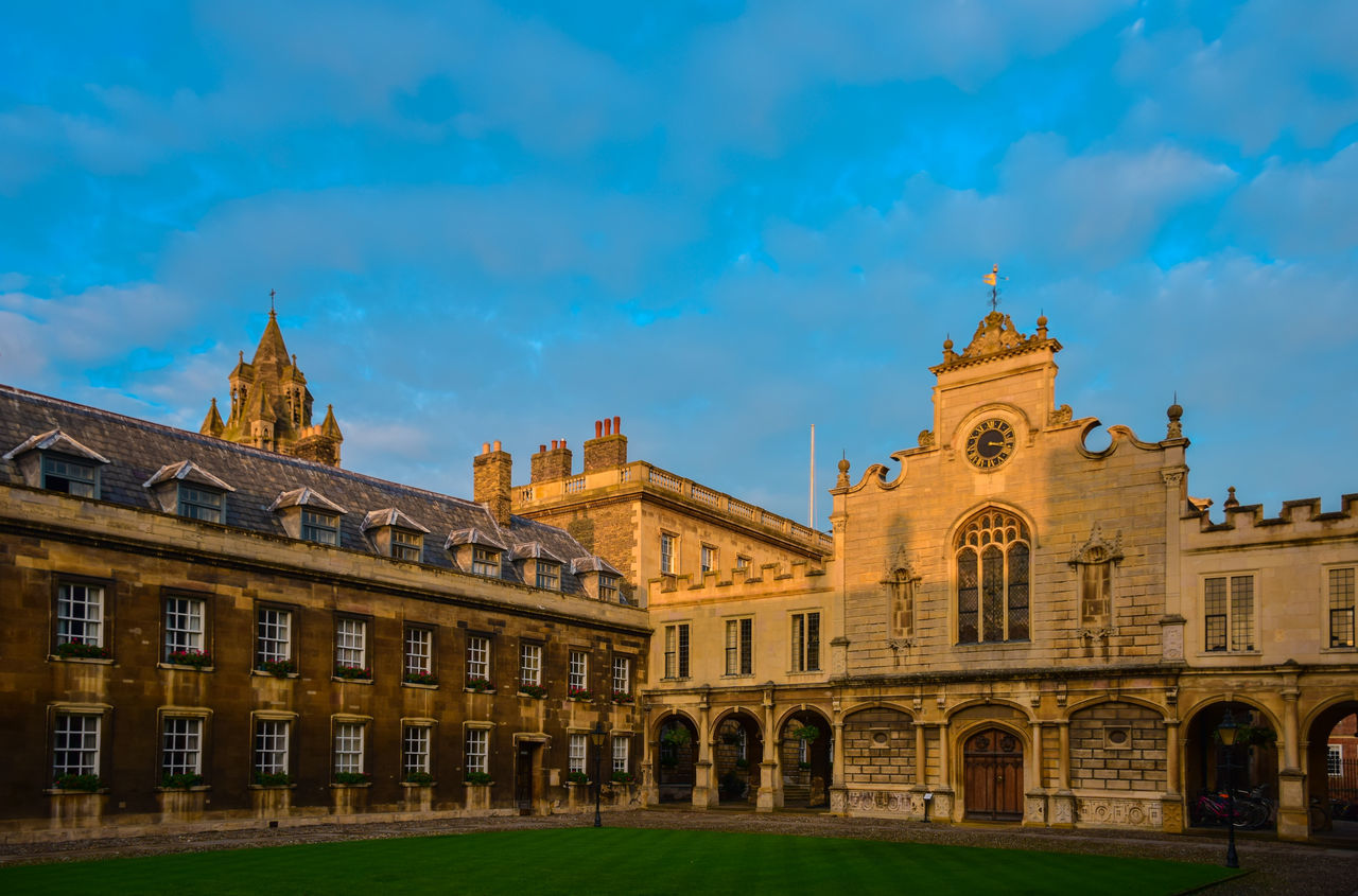 University of Cambridge Academic Architecture Britain British Building Building Exterior Cambridge Cambridgeshire Chapel Church England Exterior Façade Historical Building International Landmark King's College Library Old Buildings Outdoors Place Of Worship Religion Religions Student Study University