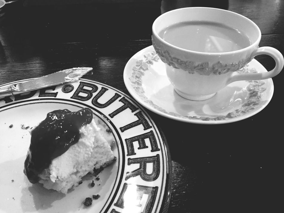 Tea and scones on this rainy winter morning! Ahappyplace