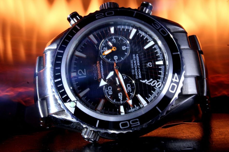 Omega 007 Limited Edition Time Metal Clock Face Clock Watch Men Omega Omegawatches Omegawatch Omega Seamaster First Eyeem Photo