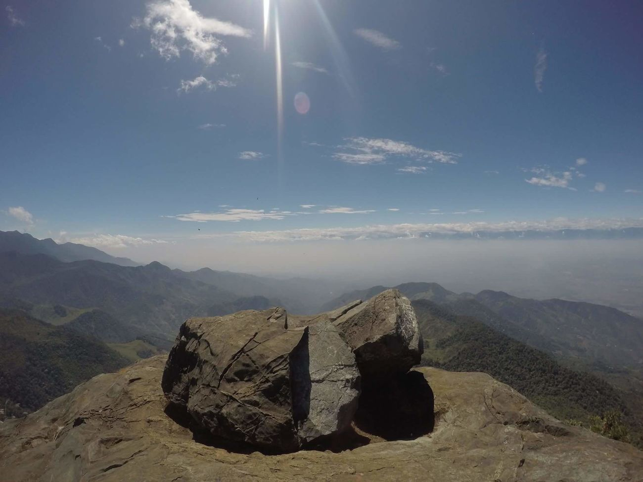 Mountain Stone Landscape Tranquility Non-urban Scene Nature Green Nature Top Of The Mountains Colombia Gopro Goprohero4 Gopro Shots Goprophotography Goprouniverse GoPrography