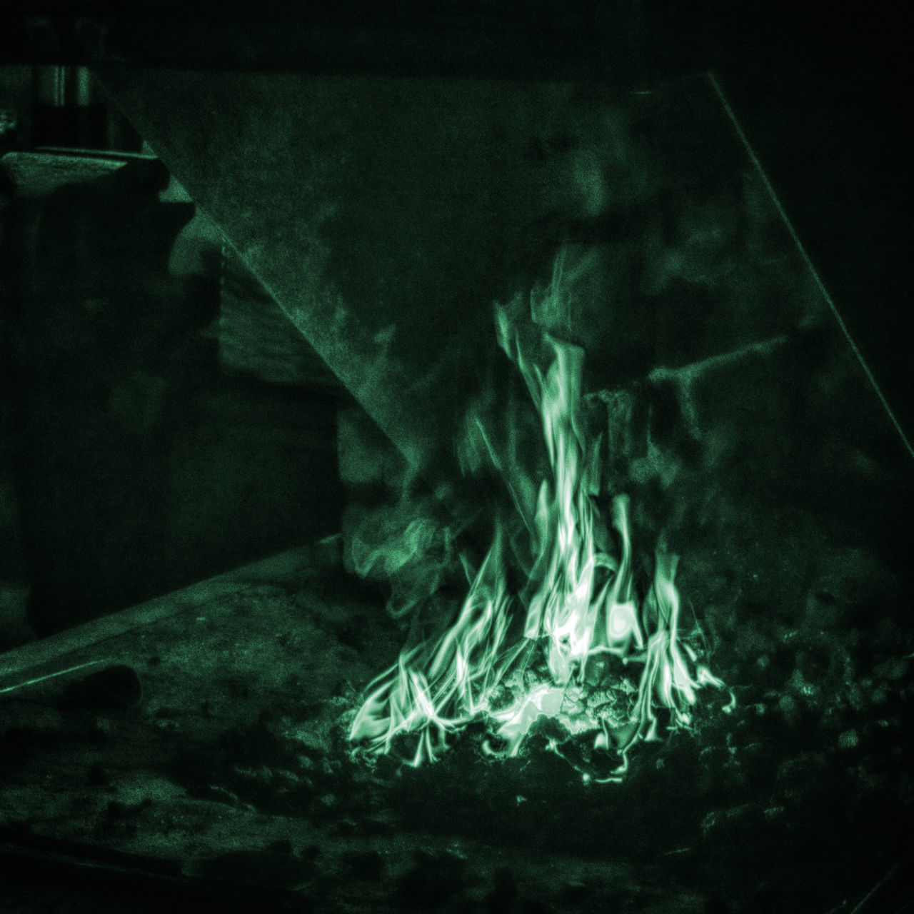 The magicians birthday Magician Feuer Fire HDR Dramatic