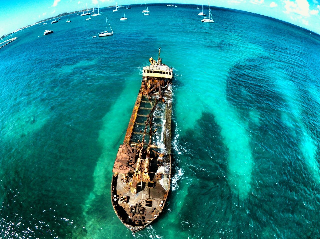 Ghost Ship at the Caribbean -- Showcase: February Flying High