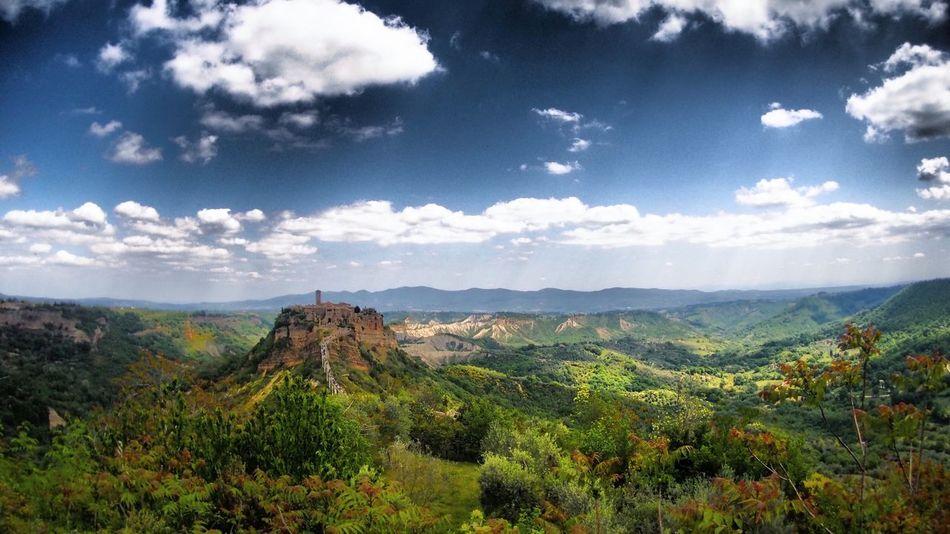 EyeEmNewHere Travel Destinations No People Landscape Beautiful Nature Italy Civita Di Bagnoregio