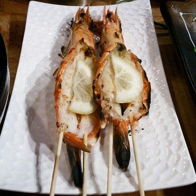 새우꼬치 먹스타그램 잘먹겠습니다 연수동 모로미쿠시