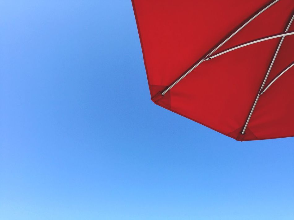 Beautiful stock photos of umbrella, Clear Sky, Copy Space, Day, Low Angle View