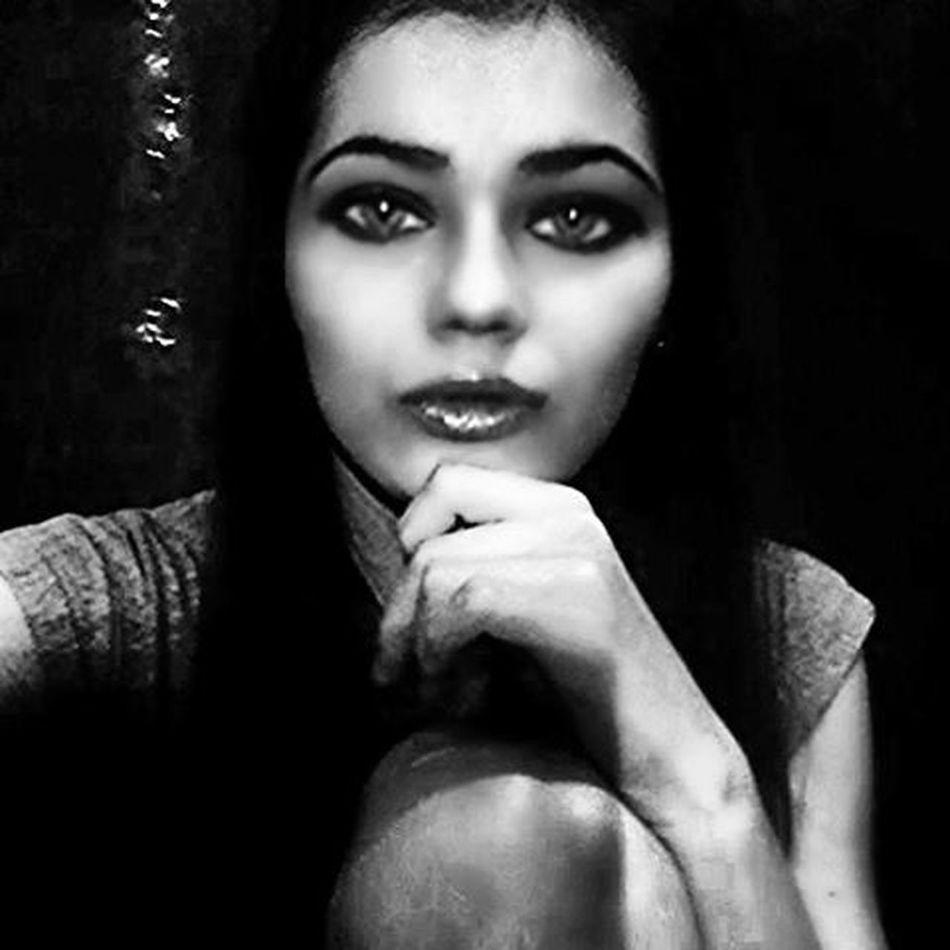 черное_и_белое Ночь я :)
